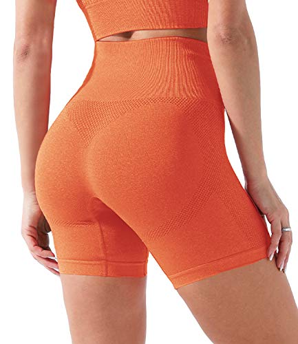 COMFREE Mallas de Deporte de Mujer Sostén Sujetador Conjunto Short Leggins Pantalon Deporte Yoga Leggings Mujer Fitness Suaves Elásticos Cintura Alta para Reducir