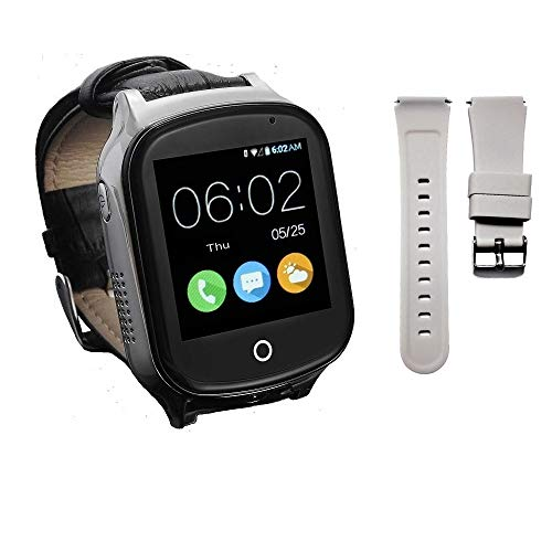 (Give Replaceable Strap) 3G GPS Watch for Elderly Adults