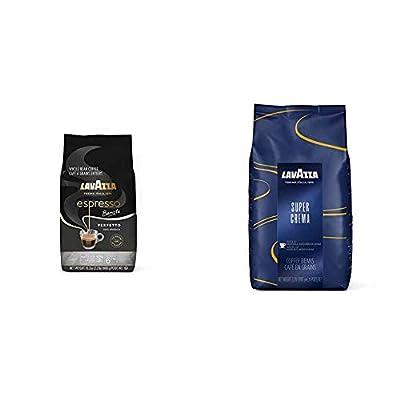 Lavazza Espresso Barista Perfetto Whole Bean Coffee 100% Arabica, Medium Espresso Roast, 2.2-Pound Bag (Packaging may vary)