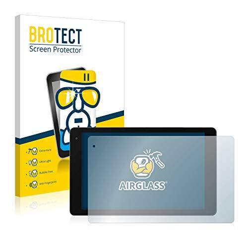BROTECT Panzerglas Schutzfolie kompatibel mit Medion LifeTab P10603 (MD 60876) - AirGlass, 9H Festigkeit, Anti-Fingerprint, HD-Clear