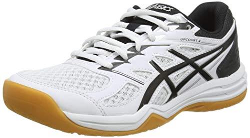 ASICS Damen 1072A055-100_39 Volleyball Shoes, Blanc Noir, EU