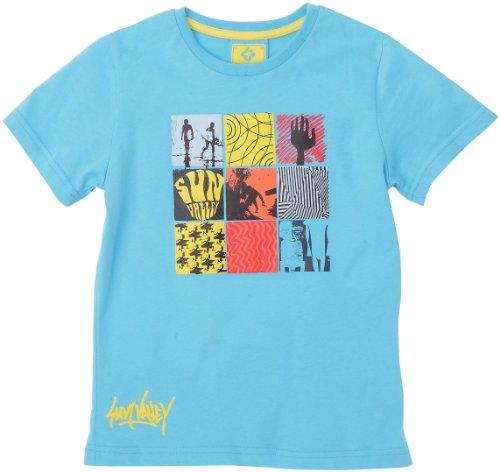 Sun Valley Junior Vast Tee-shirt manches courtes garçon Bleu 6 ans