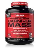 MuscleMeds Carnivor Mass Diet Supplement, Vanilla Caramel, 5.93 Pound (002658)