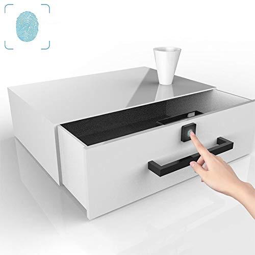 Fingerabdruck-Vorhängeschloss Micro-USB-Ladeschubladenschrank Tür ABS Smart-Fingerabdruck-Verschluss-T4 Weit Verbreitet