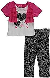 Penny M Multi Color Baby Clothing Set For Girls