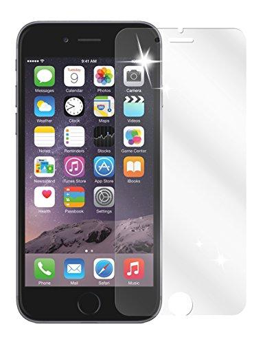 dipos I 2X Protection ecrán Compatible avec Apple iPhone 6S Films de Protection d'écran Transparent