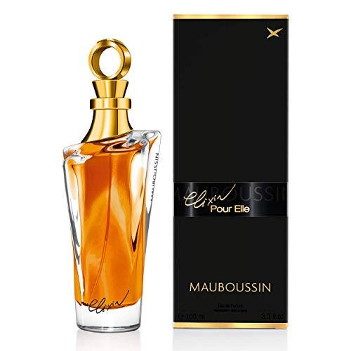 Mauboussin - Eau de Parfum Femme - Elixir Pour Elle - Senteur Orientale & Gourmande - 100 ml