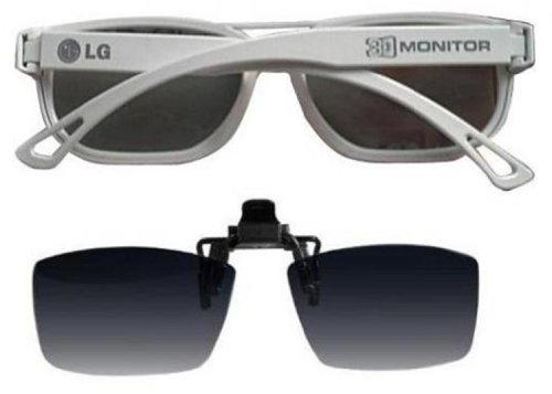 LG 3D Brille FPG-200F (Pack weiß-Gerahmte Passiver Glas und clip auf Glas) für D2242P - PN