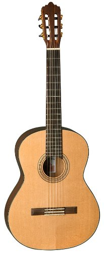LA MANCHA Rubi CM Konzert-Gitarre 4/4 inkl. Gigbag, natur