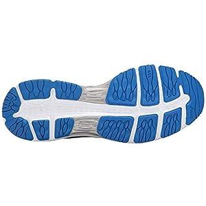 ASICS Men's Gel-Cumulus 19 Running Shoe, Grey/Black/Directoire Blue, 10 Medium US