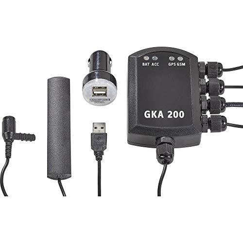Renkforce GKA200 Auto Alarmanlage Mobiltelefon kompatibel, Fahrzeugortung, Erschütterungssensor, GPS-Portal 12 V/DC, 24