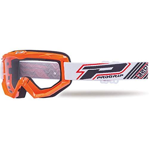 Progrip Crossbrille 3201 Mod.18 für Brillenträger geeignet orange PZ3201AR14