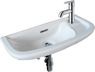 shallow depth pedestal sink