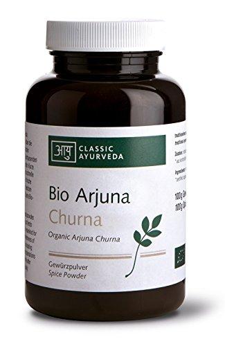 Classic Ayurveda - Bio Arjuna Churna - Nahrungsergänzung mit Kräutern, 1er Pack (1 x 100g) - BIO