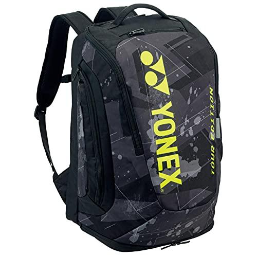 ヨネックス(YONEX) バックパックM PRO series テニス2本用 ブラック/イエロー BAG2008M