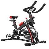 XJWWW-URG Bicicleta estática, Bicicleta estacionaria, Bicicletas estáticas Cubierta Ciclo de la Bici, Completamente Ajustable Asiento cómodo y Manillar for el hogar Cardio Workout URG