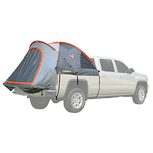 Rightline Gear 110730 Full-Size Standard Truck Bed Tent 6.5', Gray and orange