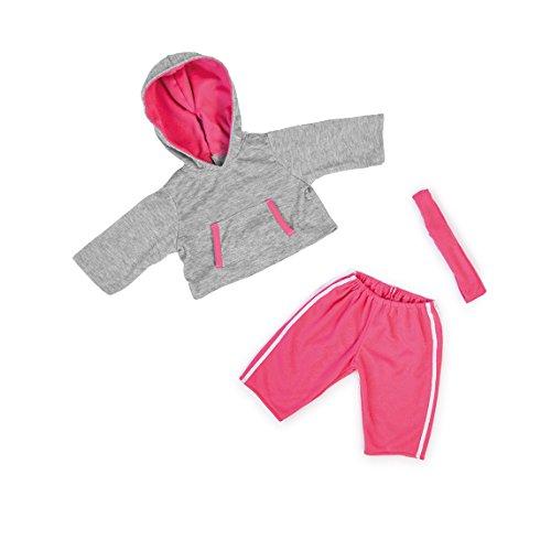 Bayer Design 84634 - Kleidung für Puppen - Joggingoutfit, Circa 40 - 46 cm