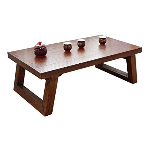 Tables Salon Basses Basse Maison Restaurant Petite À Manger Bureau Fenêtre Simple Basse en Bois Massif Tatami D'ordinateur Basses