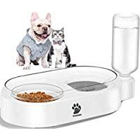 Tooogo 2 in 1 Automatic Gravity Water & Food Bowl Set