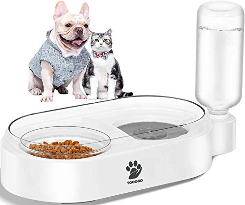 (40% OFF) 2-in1 Automatic Gravity Water & Food Bowl Set $10.79 – Coupon Code