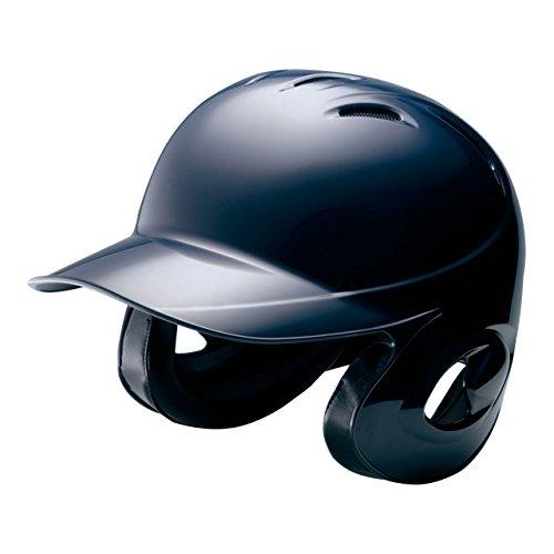 MIZUNO(ミズノ) ソフトボール用ヘルメット(両耳付打者用) (1DJHS101) 14ネイビー 14ネイビー XO