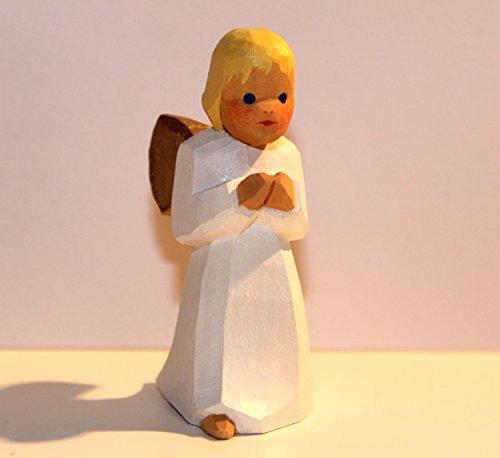 Lotte Sievers-Hahn Krippenfiguren Engel stehend im Baumwollbeutel * 1400 (blond)