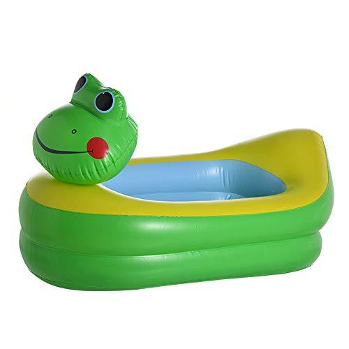 Opblaasbaar Zwembad, 23 * 22.5 * 7cm Zeeleven 3 Cirkels Opblaasbaar Zwembad, Familie Zwembad, Kinderen, Baby, Buiten, Tuin