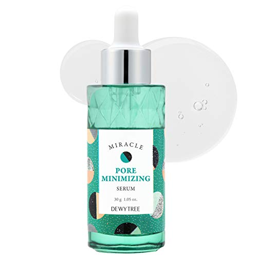 DEWYTREE Miracle Pore Minimizing Serum 30ml (1.01 fl.oz.) - Hyaluronic Acid & Tea Tree Extract Contained Pore Tightening Facial Serum, For Enlarged Pores and Oily Skin