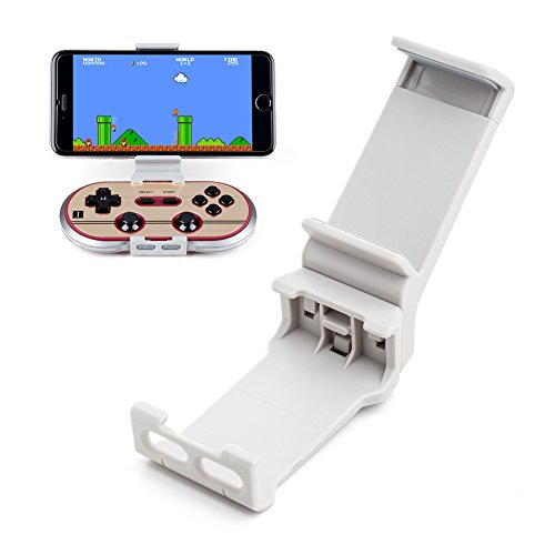 Xtander Stand Clip Holder for Wireless 8Bitdo N30 Pro and F30 Pro Controller Gamepad