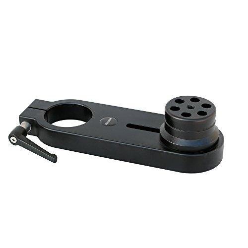 Proaim EE-281-00 - Supporto adattatore Euro/Elemac per Dollies, Bazooka, Jibs, in alluminio resistente, compatibile con tutte le fotocamere Canon Red Panasonic Blackmagic Sony Nikon (EE-281-00)