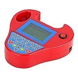 Programmeur clé, programmeur de clé automatique de voiture Zed-Bull transpondeur Match Mini outil intelligent prise américaine 110-240 V(rouge)