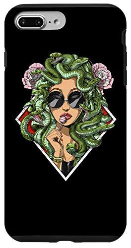 iPhone 7 Plus/8 Plus Medusa Hippie Psychedelic Snakes Greek Mythology Women Case