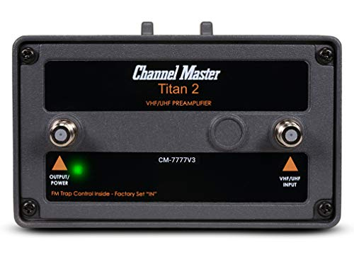 Channel Master CM-7777V3 Titan 2 High Gain TV Antenna Preamplifier [Version 3]. Buy it now for 75.00