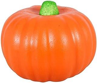 sellerstationtop Carvable Foam Orange Pumpkin Harvest Artificial Pumpkins Halloween, Fall and Thanksgiving Decorating