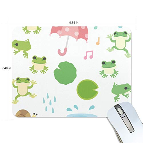 playroom Game Mouse pad Design Frog Umbrella Snail Extended Ergonomic for Computers Mouse mat Custom-Made