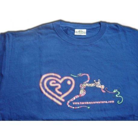 Tucuman Aventura - Shirts m/c Coton Africain Serpent Marin (Bleu Marine, XL)