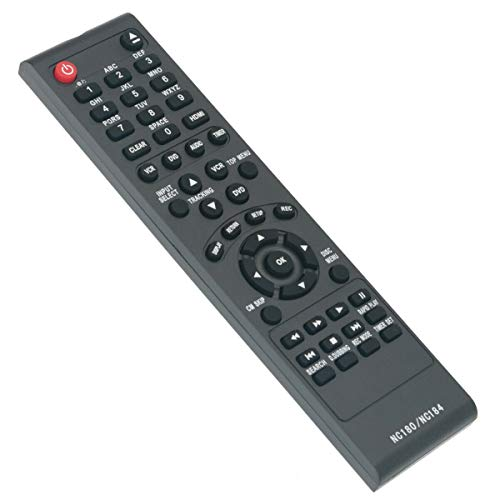 NKF New Replacement Remote Control NC184 NC184UH for Sanyo FWZV475F DVD Recorder VCR