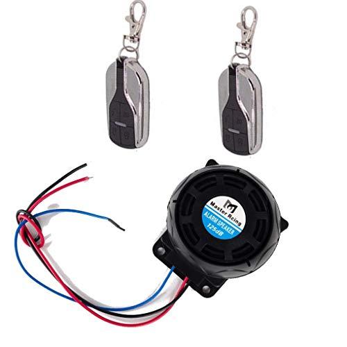Fornateu Sistema inmovilizador antirrobo del Motor de Control Remoto de Inicio Fit Motocicleta Alarma de la Moto Seguridad Alarma antirrobo