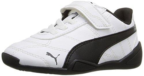 PUMA Tune Cat 3 V Inf Sneaker (Toddler), White Black, 10 M US Toddler