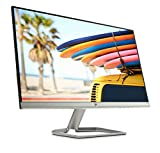 HP 24FW Monitor, Schermo IPS Full HD, 23.8', 1920 x 1080, Micro-Edge, Tecnologia AMD FreeSync, Modalità Low Blue Light, Antiriflesso, Tempo di Risposta 5 ms, Comandi su Schermo, Reclinabile, Nero
