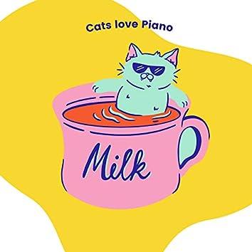 Cats love Piano