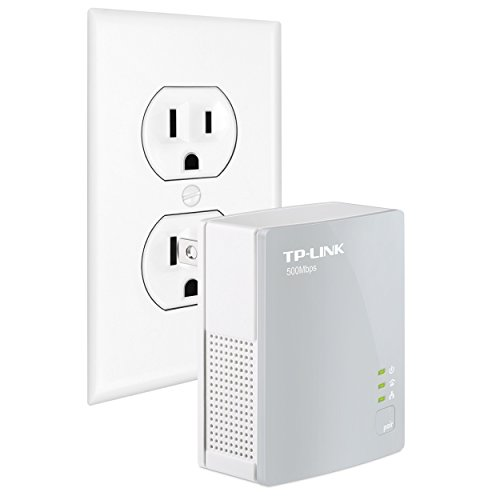 TP-Link AV500 Nano Powerline Adapter, up to 500Mbps (TL-PA4010) (Renewed)