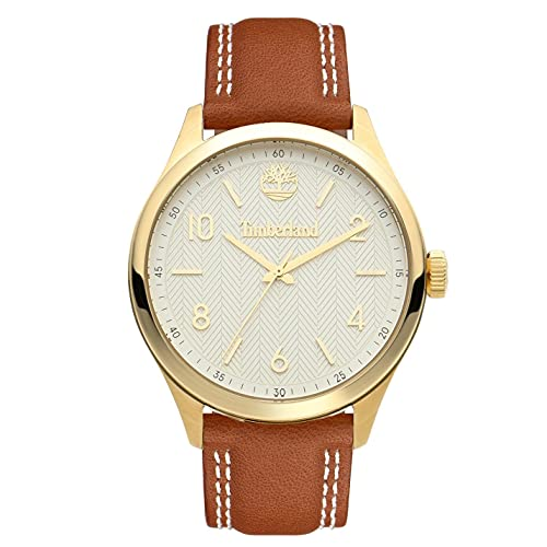 Timberland Reloj Analógico para Mujer de Cuarzo con Correa en Cuero TDWLA2101802