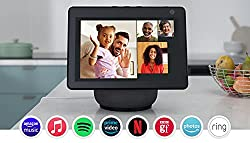 """Designed to move with you—with a 10.1"""" HD screen that moves automatically, video calls, recipes and series are always in view. The speakers deliver premium, directional sound. Stay in frame—video call friends and family or take a picture while the 13..."""