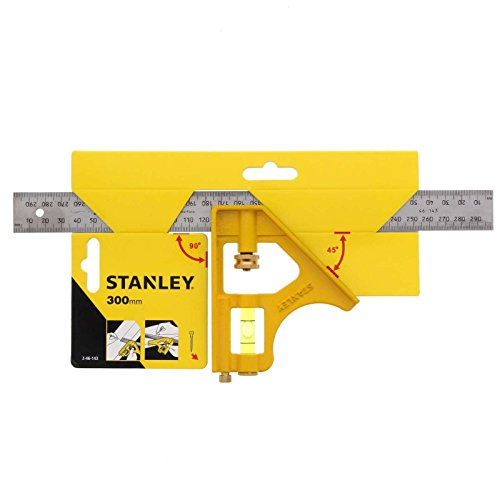 Stanley 2-46-143 - Squadra combinata multiuso Die-Cast, 300 mm, Multicolore (Multicolore)