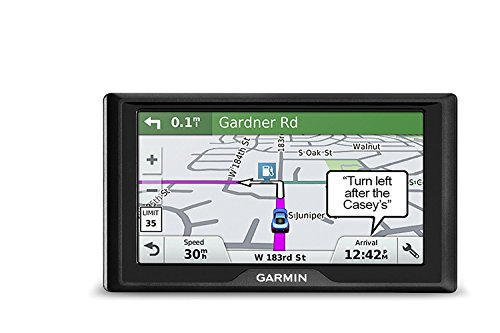 Garmin Drive 51 USA LMT-S GPS Navigator System with Lifetime Maps, Live Traffic and Live Parking, Driver Alerts, Direct Access, TripAdvisor and Foursquare Data (Renewed)