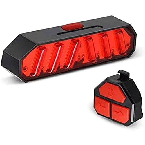 ZOUHANGDIAN Bike Tail Light with Turn Signals Wireless Remote Control - - USB Rechargeable Bike Lights - Bike Lights for Night Riding - Waterproof Bike Turn Signals Light LED Light