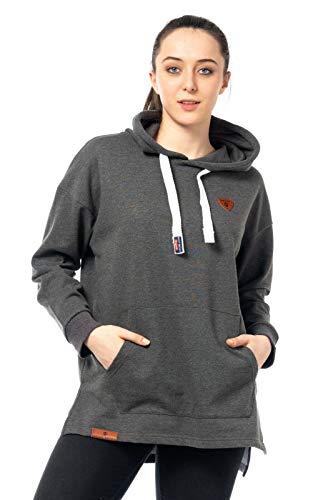 Sweater Vrouwen Pullover Warmer Pulli Knuffelig Sweat-Shirt Hoody Hoody Streetwear 515