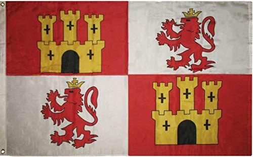 Trade Winds 3x5 Spain Lions Lion and Castles Castle Castile Premium Quality Flag 3'x5' Fade Resistant Premium